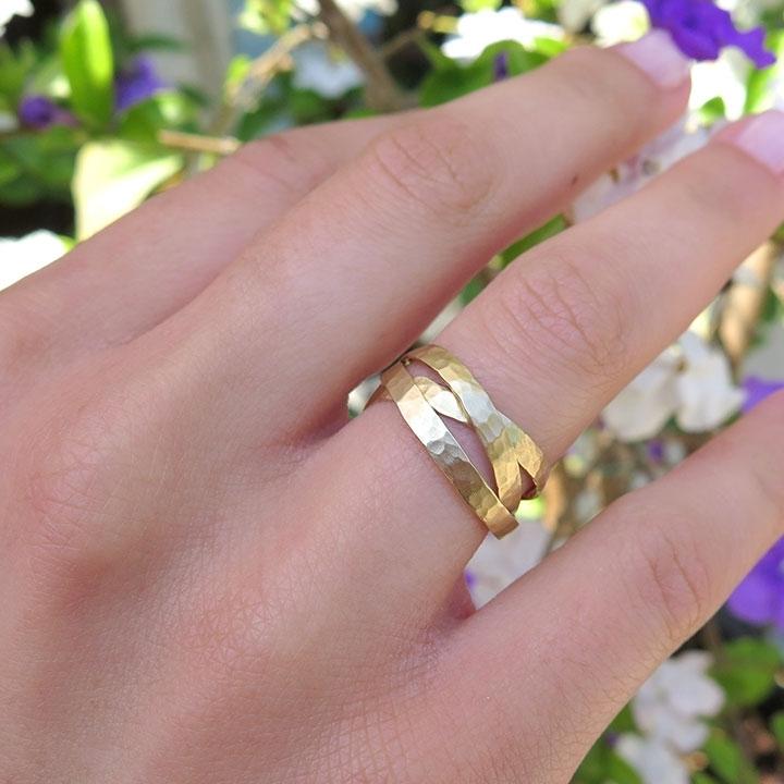 טבעת נישואין בסגנון רוסי